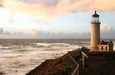 North Head Lighthouse, Ilwaco, Washington (Image: Xan Fulton used under a Creative Commons Attribution-ShareAlike license)