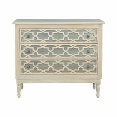 Selamat Designs Tangier Three Drawer Dresser ATGStores Dresser