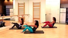 Barre Fitness   Amazing Abs Workout   Mat Core Workout