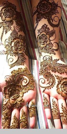 detailed mehndi design for hand Mehandi Design Henna Design# Mehandi Art Mehandi Art Henna Art Beautiful henna design by how lush the paste look like! Make the design so beautiful detailed mehndi design for hand Dulhan Mehndi Designs, Khafif Mehndi Design, Mehndi Designs For Girls, Mehndi Design Pictures, Wedding Mehndi Designs, Stylish Mehndi Designs, Latest Mehndi Designs, Beautiful Mehndi Design, Dubai Mehendi Designs