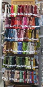 source for dmc's medicis yarn - perfect scale for mini knitting