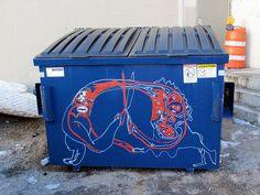 dumpster graffiti | Interesting Dumpster Graffiti | Flickr - Photo Sharing!