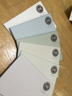 FARROW & BALL House Colour Scheme | Slipper Satin, Light Blue, French Grey, Stony Ground, Off White, Elephant's Breath