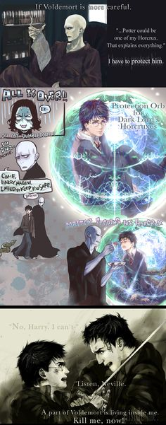 Dumbledore's Miscalculation by *Flayu ( This would have been awesome in the movie) a bit strange, but cool in concept.