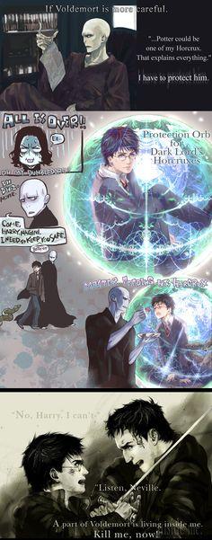 Dumbledore's Miscalculation by Flayu.deviantart.com on @DeviantArt