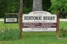 Historic Rugby Village Open year round  Phone 423 628 2441 for info and lodging !!!