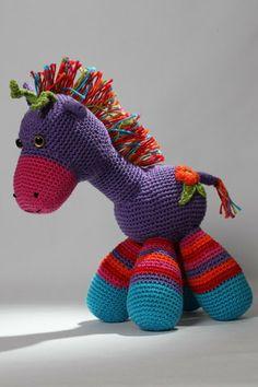 Amigurumi crochet pattern pdf Milo the Giraffe toy by Millionbells, $4.50