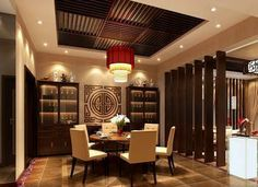 Oriental Chinese Interior Design Asian Inspired Dinning Room Home Decor http://www.interactchina.com/home-furnishings/