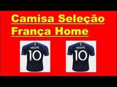 de5fd04537 Camisa Seleção França Home 2018 n° 10 - Mbappé - Torcedor Nike Masculina.