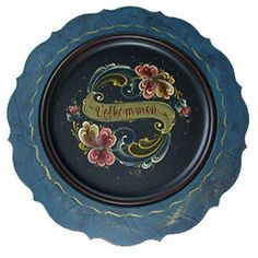 history of rosemaling .....  'What is Norwegian rosemaling?'