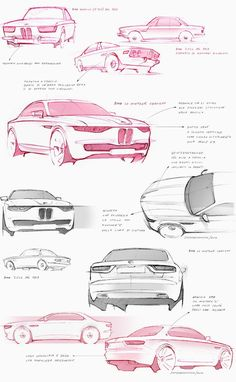 BMW CS vintage concept by david obendorfer pays tribute to 1968 E9 series - designboom | architecture & design magazine