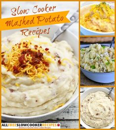 Learn how to make mashed potatoes with these great recipes for slow cooker mashed potatoes! With so many options, you'll find a recipe to fit any meal.
