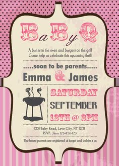 find this pin and more on baby showers u0026 diaper cakes baby shower bbq invitation