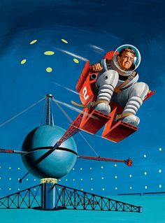 ED VALIGURSKY Orbit Science Fiction no. 5 cover November December 1954 by Fred Seibert, via Flickr