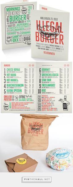 Art of the Menu: Illegal Burger - created via https://pinthemall.net