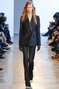 THEORY - The masculine suit trend is 'de rigueur' this Fall 2014.