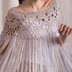 Silk poncho wedding shrug silk crochet poncho silk fringed shawl bridal shrug Bridal cover up silk crochet shawl Poncho Au Crochet, Col Crochet, Crochet Cape, Crochet Collar, Crochet Blouse, Crochet Scarves, Crochet Vests, Crochet Motif, Wedding Shrug