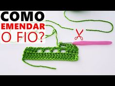 Como fazer EMENDA de fios no crochê? Dica fácil - YouTube Friendship Bracelets, Crochet Necklace, Crochet Patterns, Barbie, Knitting, Youtube, Crochet Stitches For Beginners, Knit Leg Warmers, Thread Crochet