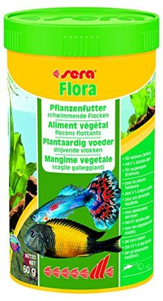 Flora Fish Food Size 250 ml by Sera >>> This is an Amazon Affiliate link. Visit the image link more details.