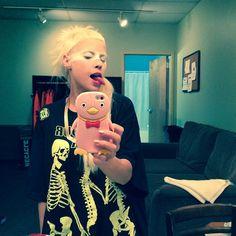 Yolandi Visser, Die Antwoord, New Africa, Fan Art, Selfie, Weird, Music, Celebs, South Africa