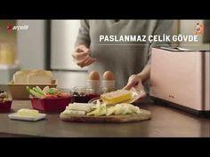 """""""Arçelik"""" Ekmek Kızartma Makinesi K 8550 Yeni Reklamı 2019 Videolu Tarif"""