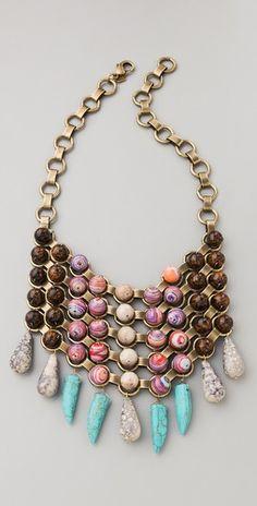 Love this Dannijo Iris Necklace #shopbop