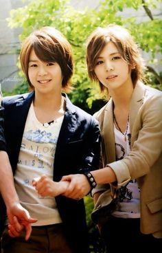 Yamada Ryosuke & Arioka Daiki \ hey say jump