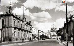 Fotos de Morelia, Michoacán, México: PALACIO DE GOBIERNO Hacia 1945