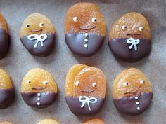 easy decorated apricots
