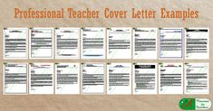 These teacher cover letter samples coupled with matching resumes display the power of our resume writing skills and creative design abilities. Resume Cover Letter Template, Cover Letter Sample, Cover Letters, Writing Skills, Writing Tips, Teacher Cover Letter Example, Teaching Portfolio, Career Information, Teaching Jobs