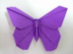 ADOBRACIA: Origami Simples: Borboleta De Michael LaFosse (Com Diagrama) Criação: Michael G. Lafosse - Livro: Advanced Origami