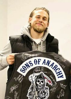 How sweet would it be to have a autographed SOA jacket or anything else that sexy man has touched! Lol