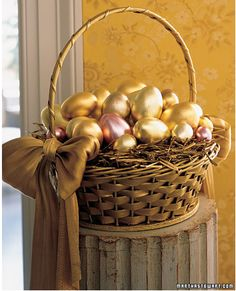 Golden Eggs...beautiful!