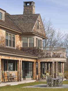 Traditional Exterior Design, Pictures, Remodel, Decor and Ideas - page 60--Like the veranda on top of the porch!