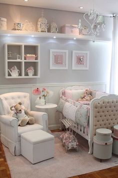 You can find luxurious ideas for girls' bedroom in Circu's collection. We design and create unique and exclusive children's furniture. Check more at . Baby Boy Rooms, Baby Bedroom, Girls Bedroom, Bedroom Decor, Baby Girl Nurseries, Bedroom Ideas, Bedrooms, Baby Nursery Decor, Baby Decor