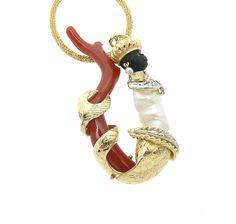 Venetian Siren Blackmoor handmade jewels
