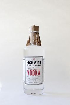 We love High Wire Vodka from High Wire Distilling Company in #Charleston!