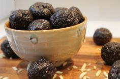 Blueberry Muffin Energy Bites - Enjoy this recipe and For great motivation, health and fitness tips, check us out at: www.betterbodyfitnessbootcamps.com Follow us on Facebook at: www.facebook.com/betterbodyfitnessbootcamps