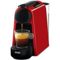 Nespresso by De'Longhi Essenza Mini Espresso Machine - Red Nespresso Boutique, Nespresso Essenza, Nespresso Lattissima, Espresso Machine Reviews, Espresso Kitchen, Big Coffee, Cappuccino Machine, Italian Coffee, Asda