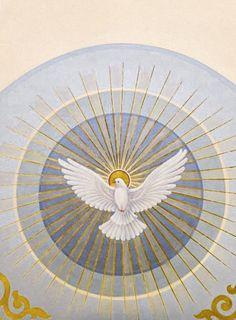Christian Symbols, Christian Art, Catholic Art, Religious Art, Holy Spirit Images, Holly Spirit, Religion, Stained Glass Church, Spiritual Images