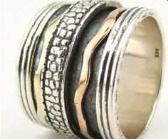Spinner ring silver and gold spinner rings & spinning rings for women and men