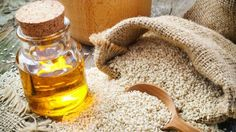 Sesame oil is indeed mostly used for cooking purpose, but it also offers plenty of benefits for human health. Listed are some beneficial health benefits of using Sesame Oil Home Remedies For Burns, Natural Home Remedies, Vitamin E, Oil Pulling, Healthy Oils, Alkaline Foods, Weight Loss Water, Oil Benefits, Health Benefits