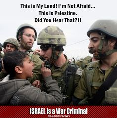 God I love the children of Palestine. I wanna just hug them all & play with them all day! They are my heroes!