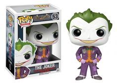 The Joker POP! #TheJoker #Joker #ArkhamAsylum #DC #Funko #Funkopop