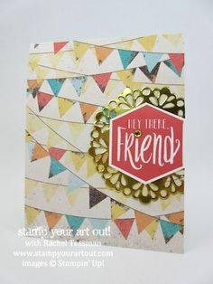Scenic Sayings Meets New Cupcakes & Carousels Designer Paper… #stampyourartout - Stampin' Up!® - Stamp Your Art Out! www.stampyourartout.com