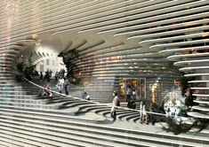 TEK Center exterior and interior by Bjarke Ingels Group (BIG)