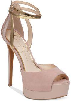 Jessica Simpson Gorgeous Pink Heels