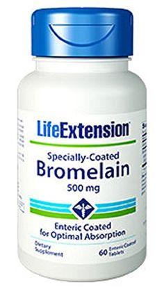 Life Extension SpeciallyCoated Bromelain 500 Mg 60 tablets *** Continue to the product at the image link.