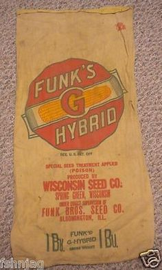 Funks G Hybrid Wisconsin Seed Co. Spring Creek, Wisconsin