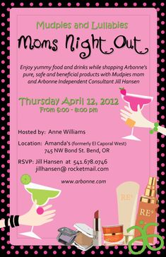 arbonne invitations | Arbonne Party Invitations free for your party. Get this elegant ...
